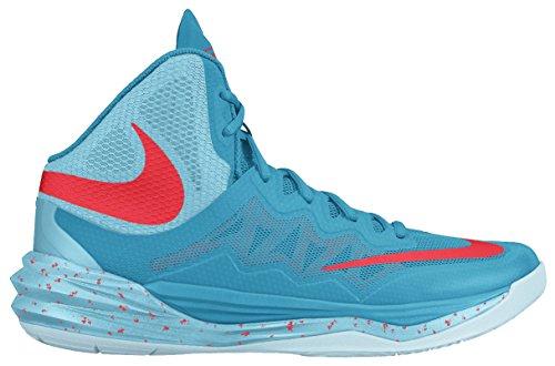 Nike Prime Hype Df Ii, Zapatillas de Baloncesto para Hombre Azul / Naranja (Bl Lgn/Brght Crmsn-Td Pl Bl-Ic)