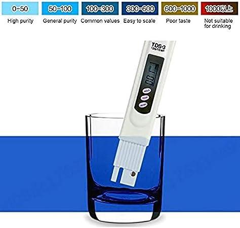 L-Home TDS-3 - Comprobador digital de calidad del agua Hydroponie ...