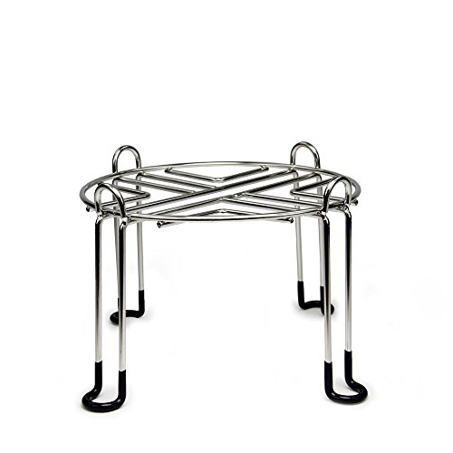 Berkey Water Filter Stainless Steel Wire Stand with Rubberized Non-Skid Feet for The Royal and Other Large Sized Gravity Fed Water Filters - Raises Your 6 - Dispenser Stand