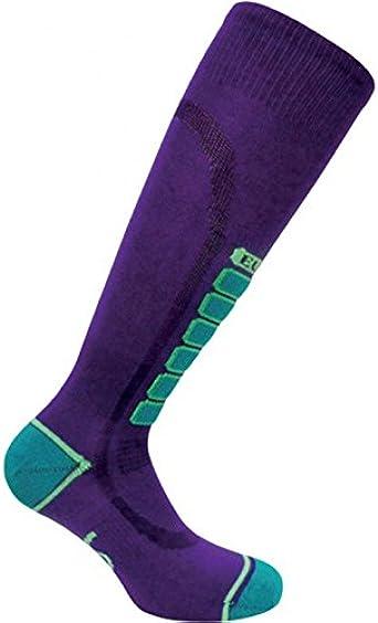 Medium Purple Eurosock Women Snow Skiing Sock