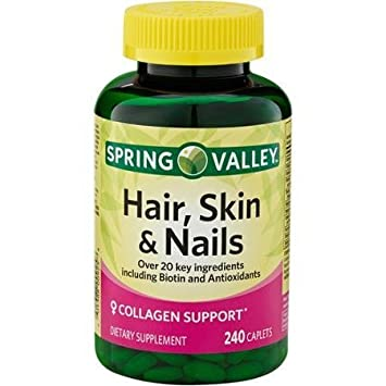 Amazon.com: Spring Valley - Hair, Skin & Nails, Over 20 Ingredients ...