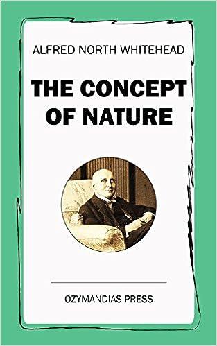 Téléchargements de livres audio gratuits sur IpodThe Concept of Nature DJVU by Alfred North Whitehead