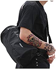 Sports Gym Bag Workout Lightweight Duffel Bags for Men and Women Black Small, Black-Small, Small,