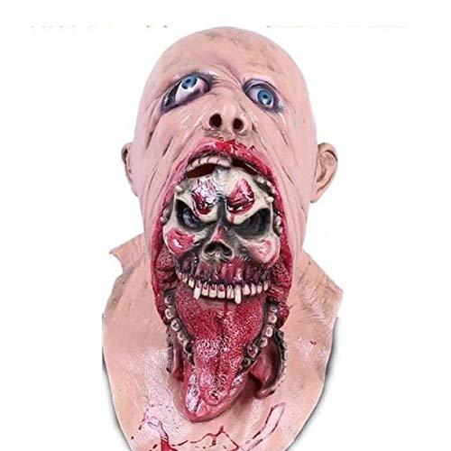 Halloween Mask Demon Parasite Zombie mask Latex Accoutrements Michael Myers Vampire Skull party Halloween scary terror masks horror mascaras latex -