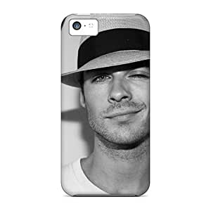 Durable Hard Cell-phone Cases For Iphone 5c With Provide Private Custom High-definition Ian Somerhalder Ian Somerhalder The Vampire Diaries Series KimberleyBoyes