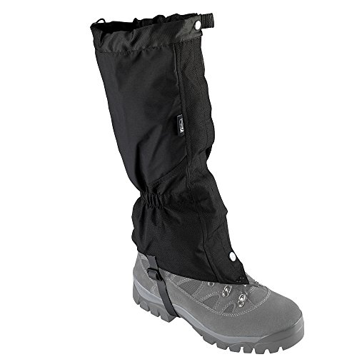 TREKMATES CAIRNGORM GORE-TEX GAITERS BLACK (SIZE SMALL/MEDIUM 4-7.5 UK)