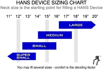 SA Helmet HANS Sport III Device- Medium Post Anchor SFI