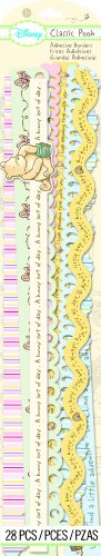 Scrapbooking Stickers Borders - EK Success Brands Disney Border Stickers, Classic Pooh