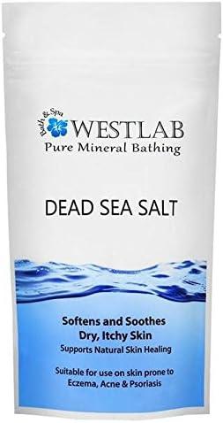 Westlab Sal de baño del mar muerto 1 kg (Pack de 4): Amazon.es: Belleza