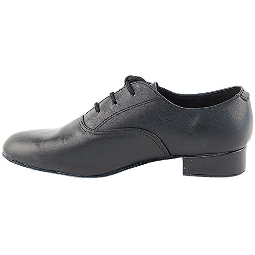 Gold Pigeon Shoes 50 Shades Of Men Standard 1 Heel Dance Dress Shoes Collection (Wide Width Available): Comfort Ballroom, Standard, Smooth, Latin, Salsa, Theather Art by Party Party C919101 Black Leather