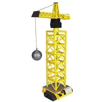 Power City Construction Mega Crane Building Kit: Toys & Games
