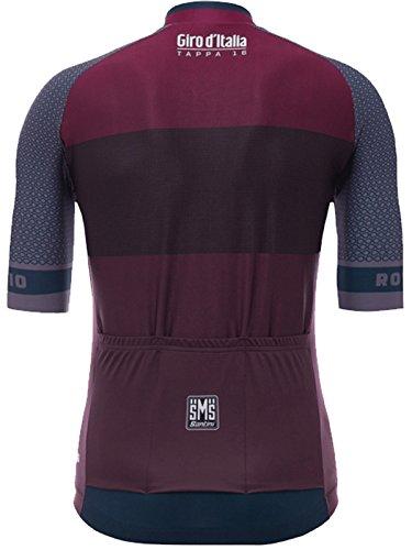 Santini-Dark-Red-2017-Giro-Ditalia-Stage-16-Rovetta-Bormio-Short-Sleeved-Cycling