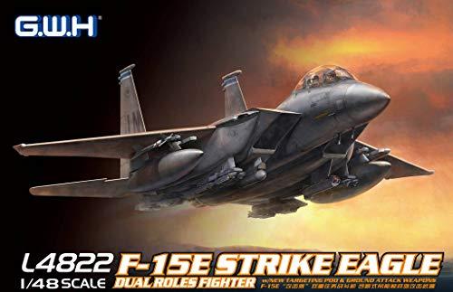 グレートウォールホビー 1/48 アメリカ空軍 F-15E 戦闘爆撃機 プラモデル