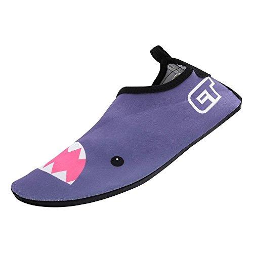 Water Chaussures D'eau Chaussure Plage Chausson Sport de Eagsouni et Aquatique 9gris Piscine Shoes 4qSv4wyd