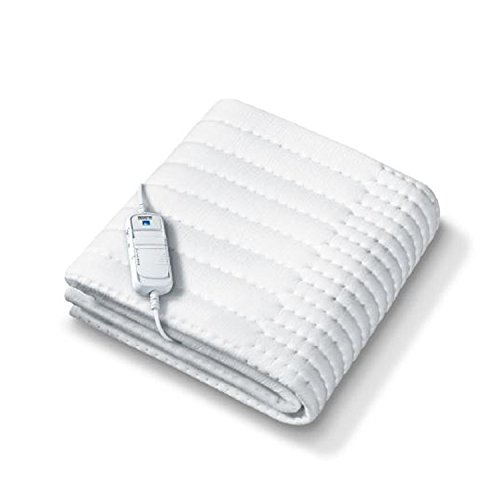 Beurer Monogram Allergy-Free Heated Mattress Cover Double