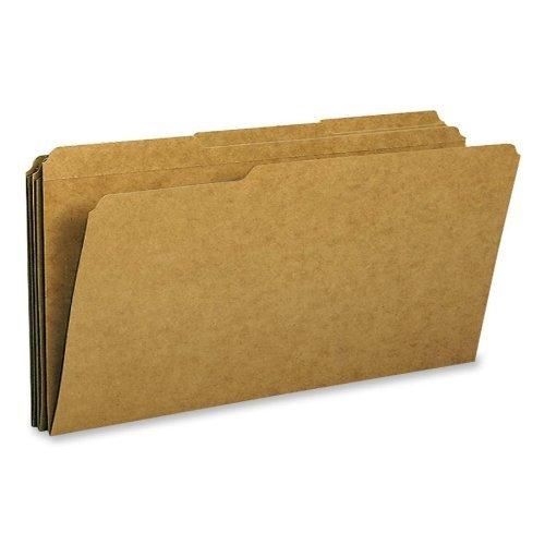 Smead - Folder, 11 Point, 2-Ply, 1/3 Ast Tab Cut, Lgl, 100/BX, Kraft, Sold as 1 Box, SMD 15734 by Smead ()