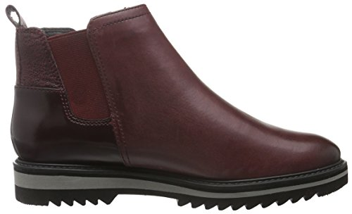 Be Natural Damen 25406 Chelsea Boots Rot (Vino 502)