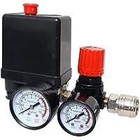 Drukschakelaar luchtcompressor drukregelaar compressor met manometer drukschakelaar compressor luchtcompressor regelklep…