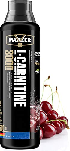 Maxler Veganes L-Carnitine 3000 Liquid – Hochdosiertes L Carnitin in flüssiger Form – reich an Geschmack – optimal…