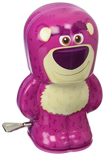 Disney Pixar Toy Story Lotso Bebot Tin Wind Up Action Figure