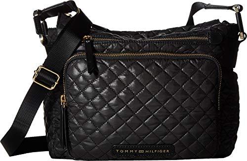 (Tommy Hilfiger Women's Alva CV Hobo Black One Size)