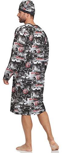 Nuit Cornette Romeo 110v2015 De D'intérieur Homme Vêtement alfa Graphite Chemise 1rwrRnqpE