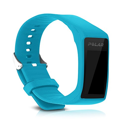 kwmobile Silicone Watch Strap for Polar A360 / A370 - Fitness Tracker Replacement Band - Sports Wristband Bracelet with Clasp