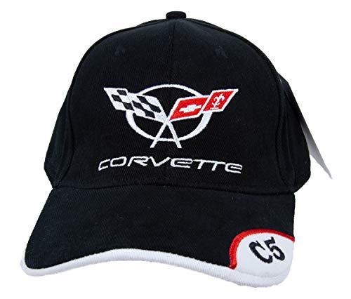 A&E Designs Chevy Corvette C5 Deluxe Fine Embroidered Vette Hat Cap, ()