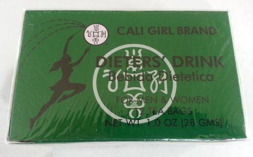 - Cali Girl Dieters' Drink, 12 Herbal Tea Bags, 1 Oz (4 Boxes)