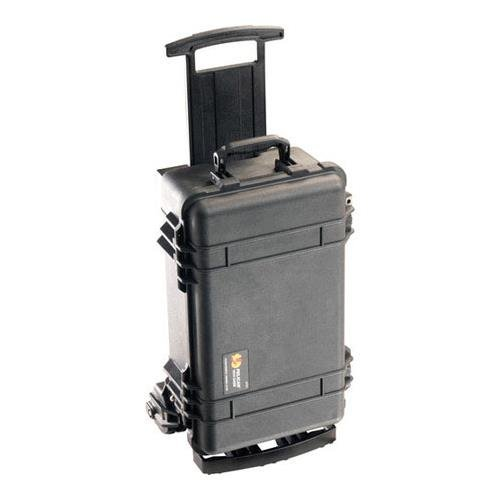 Pelican 1510M Case and Mobility Kit without Foam, Black by Pelican (Image #1)