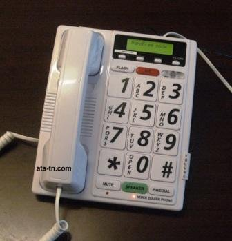 ATS Totally Voice Activated Telephone - Answer, Dial & Hang-Up with Only Your Voice