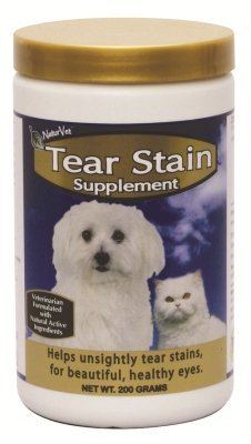 "GARMON CORPORATION/NATURVET - TEAR STAIN SUPPLEMENT POWDER (200 GM) ""Ctg: DOG PRODUCTS - DOG HEALTH - VITAMINS & SUPP"""