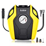 Audew Air Compressor Pump - 150 PSI Portable Tire Inflator, 12V DC Tire Pump for Car, Truck, Bicycle, RV and Other Inflatables