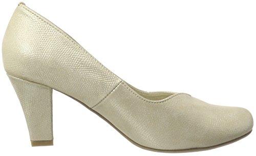Andrea 1003464 champagner Con Conti Beige 176 Zapatos Mujer Para Cerrada De Tacón Punta wr5rqcxTCW