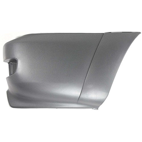 Compatible with Toyota 4Runner 03-05 Rear Bumper End Cover Extension Textured SR5 Model Right Side Plastic Textured