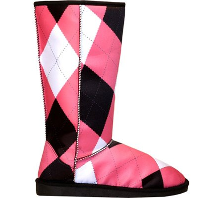 Boots Loudmouth Women's Black inch 8 Tile 9 Size Pink and w6tTSx