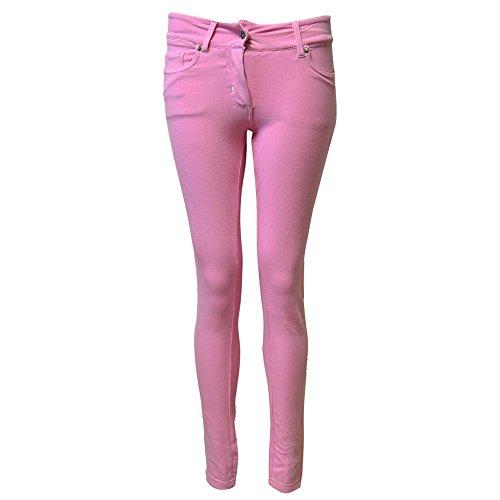 Skinny Femmes Rechercher Baby Denim jeggings Leggings Pink q4Zgx
