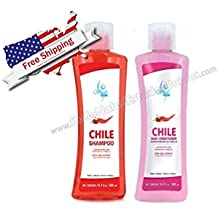 Kit Chile Hair Shampoo and Conditioner/Champu y Acondicionador de Cabello Sheló NABEL