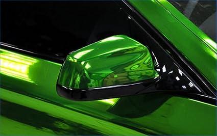 Stretchable Verde Cromo per applicazione 3d car wrapping Pellicola a Specchio cromato Schermo