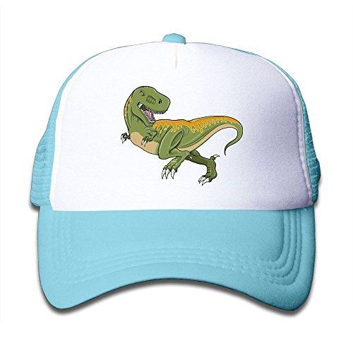 Tyrannosaurus Rex Dinosaur On Boys and Girls Trucker Hat, Youth Toddler Mesh Hats Baseball Cap