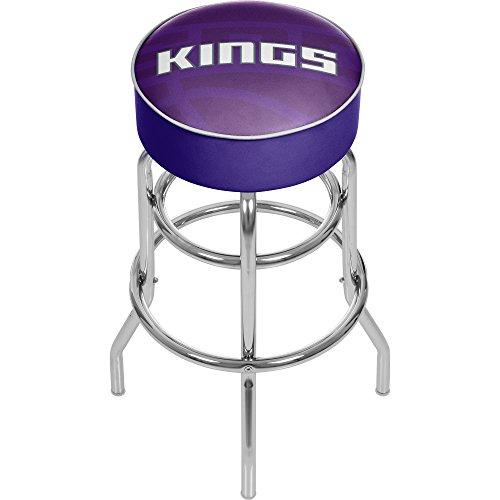 Trademark Gameroom NBA1000-SK2 NBA Padded Swivel bar Stool - Fade - Sacramento Kings