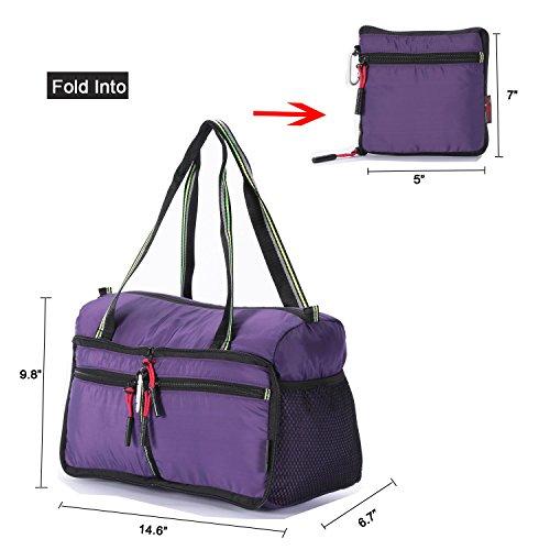 Foldable Travel Bag Duffle Bag Organizer Storage Lightweight Sports Gym Tote Bag by Alpaca Go (Image #1)