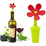 Flower Silicone Wine Stopper
