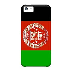 New Fashion Premium Tpu Case Cover For Iphone 5c - Afghanistan Flag
