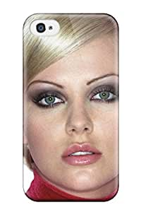 Hot Charlize Theron 86 First Grade Tpu Phone Case For Iphone 4/4s Case Cover