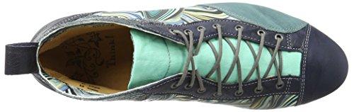 Think Guad, Botines para Mujer Azul (navy/kombi 88)