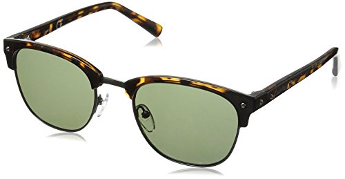 Calvin Klein Men's R736S Oval Sunglasses, Dark Tortoise, 53 - Men Calvin Sunglasses Klein