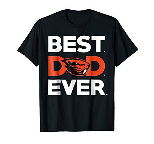 Oregon State Beavers Best Dad Ever T-Shirt - Apparel ()