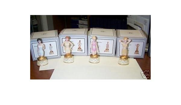 Medio oeste de Cannon Falls 4 pc Mini ropa interior estatua de Phb (porcelana caja con bisagras): Amazon.es: Hogar