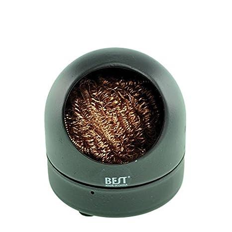 SATKIT Base Limpiador de puntas soldador: Amazon.es: Bricolaje y herramientas